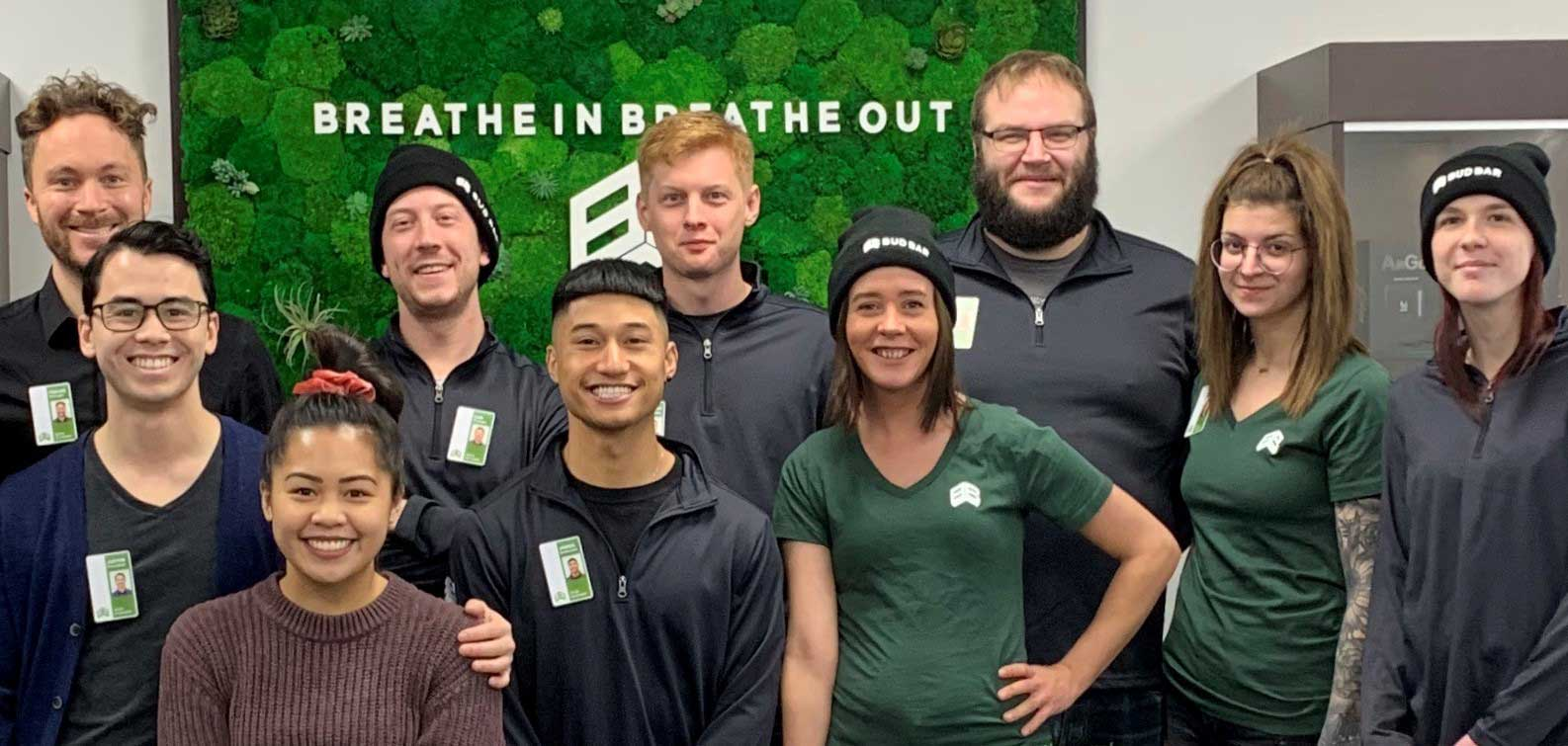 Calgary marijuana dispensary - Team